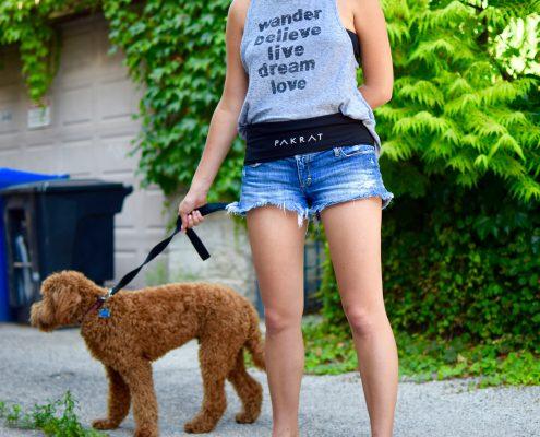 Black PakRat Perfect for Dog Walking